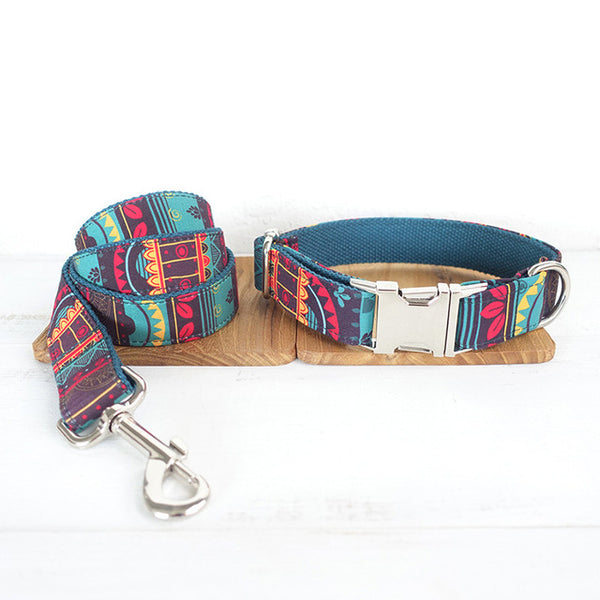 Tribal Abstract Collar + Leash