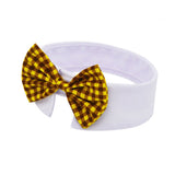 Yellow Plaid Bowtie