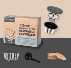 Sealpod DGPods (Dolce Gusto-compatible) Dual Pack