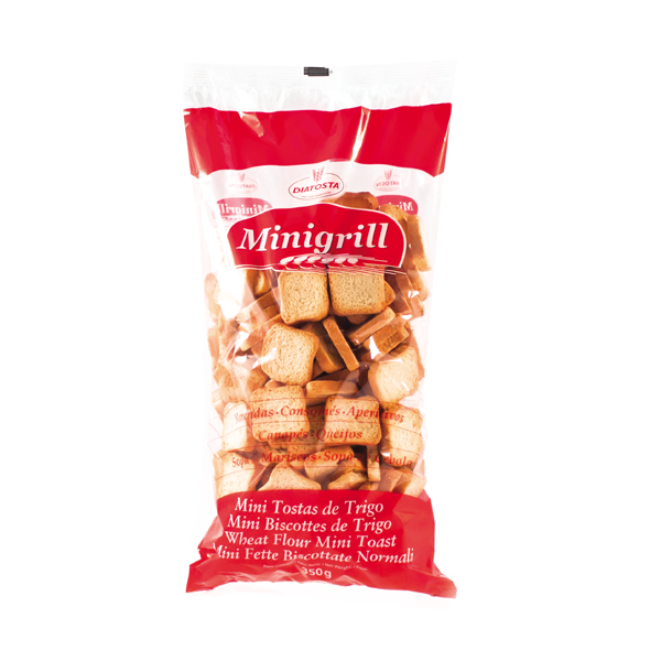 Diatosta Minigrill Wheat Flour Mini Toast 350g