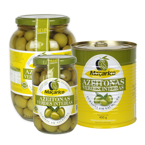 Macarico Whole Green Olives
