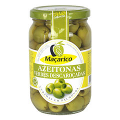 Macarico Pitted Green Olives (345g)