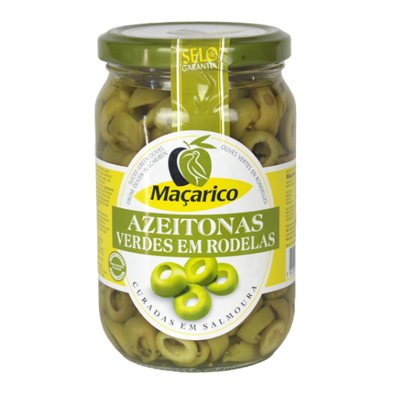 Macarico Sliced Green Olives (345g)