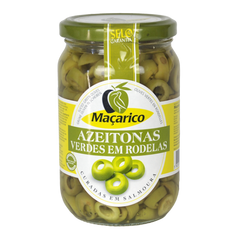 Maçarico Sliced Green Olives (345g)