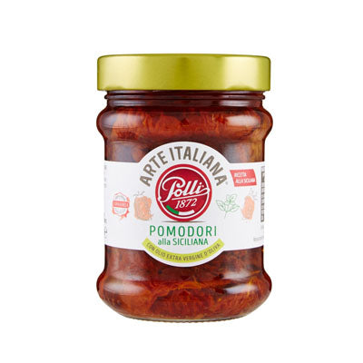 Polli Sundried Tomatoes in Garlic, Oregano & Olive Oil (285g)