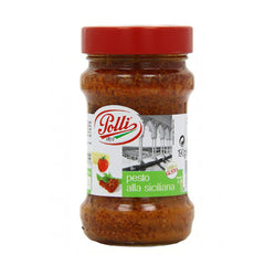 Polli Tomato & Basil Red Pesto (190g)