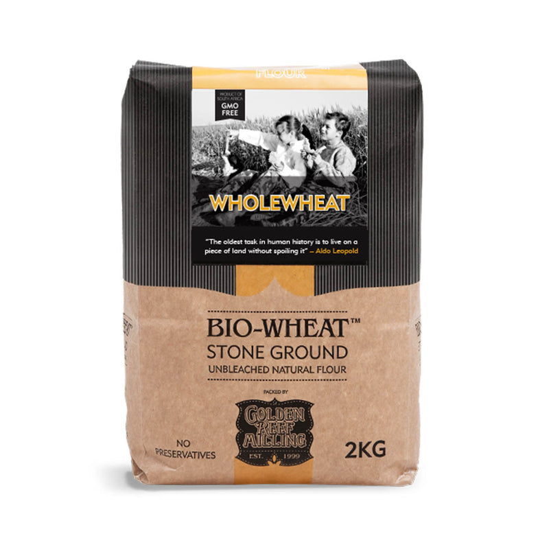 Bio-Wheat Stone Ground Whole Wheat Flour