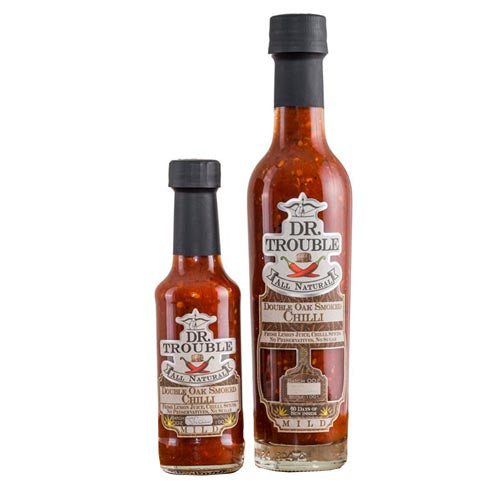 Dr. Trouble Double Oak Smoked Chili Sauce