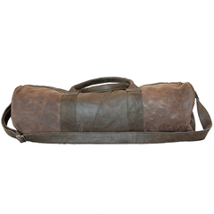 El Toro Barrel Leather Duffle Bag