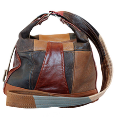 El Toro Retro Quilt Leather Handbag