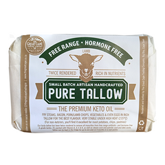 Pure Tallow from free-range hormone-free lamb