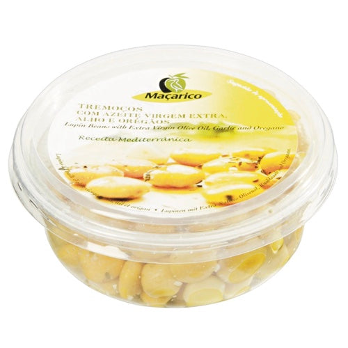 Macarico Lupins with Extra Virgin Olive Oil, garlic & oregano in small tub (150g)