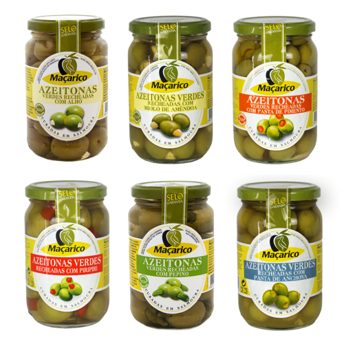 Macarico Stuffed Green Olives (350g) - 6 variants