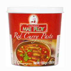 Mae Ploy Red Thai Curry Paste 400g