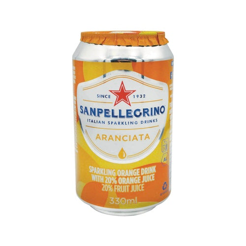 San Pellegrino Sparkling Orange Drink (6 Pack)