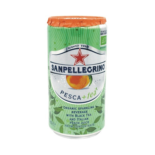 San Pellegrino Peach Ice Tea (6 Pack)
