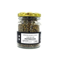 Whole Green Peppercorns