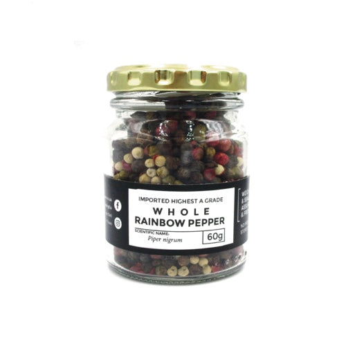 Whole Rainbow Peppercorns