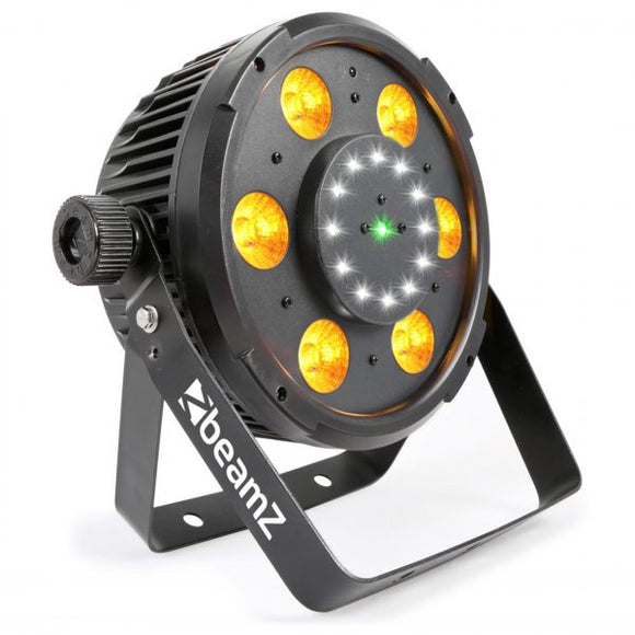 BeamZ - BX100 Par 64 with COB , LED , Strobe & Laser