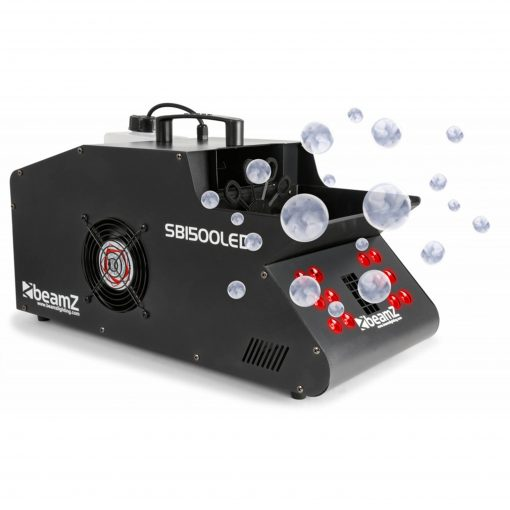 BeamZ - SB1500LED Smoke & Bubble Machine Single RGB LEDS DMX