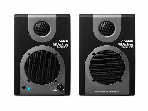 Alesis M1 Active 320 USB - Studio Monitors (Pair)