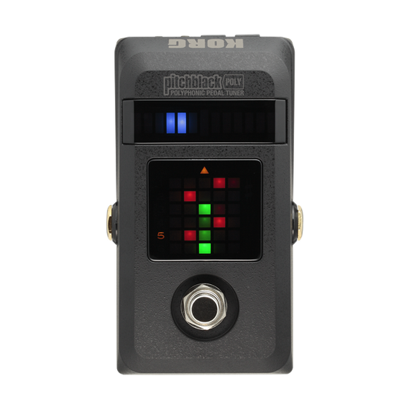 Korg Pitchblack Poly - Polyphonic Guitar Pedal Tuner