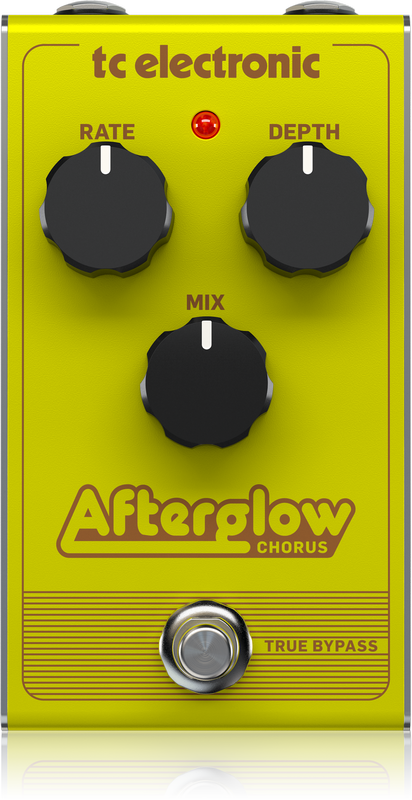 TC Electronic - AFTERGLOW CHORUS