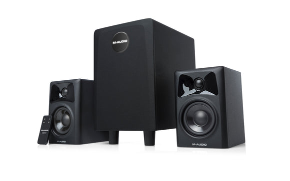 M-Audio - AV32.1 Two Active Monitors and Subwoofer
