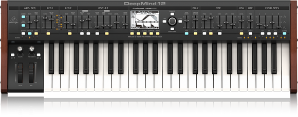 Behringer DeepMind 12 (49-key 12-voice Analog Synthesizer)