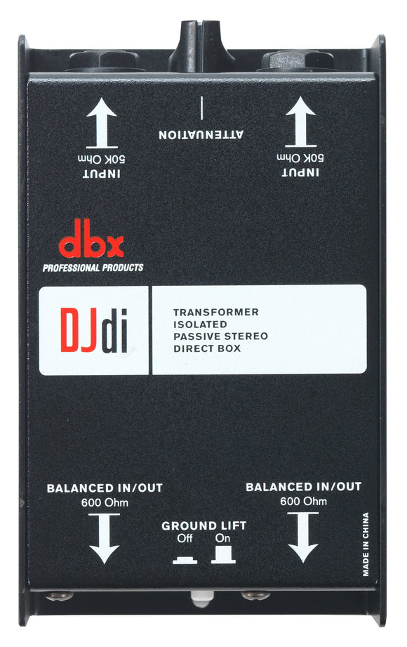 DBX DJDI - 2 Channel Passive Direct Box