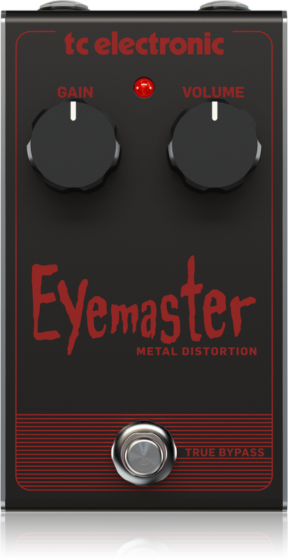 TC Electronic - EYEMASTER METAL DISTORTION