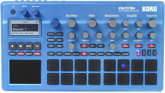 Korg Electribe 2 Sampler - Music Production Station - Blue