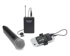 Samson Go Mic Mobile - Professional Wireless System for Mobile Video