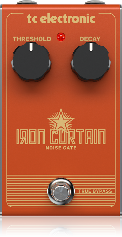 TC Electronic - IRON CURTAIN NOISE GATE