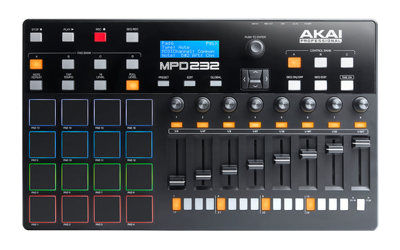 Akai MPD 232 - Feature-Packed, Highly Playable Pad Controller