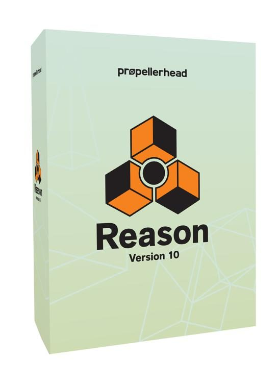 Propellerhead Reason 10 - Upgrade from Previous Versions of Reason (Boxed)