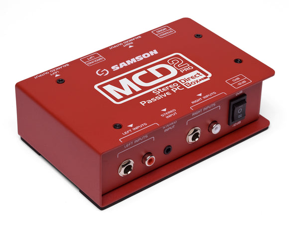 Samson MCD2 Pro Stereo Passive PC Direct Box