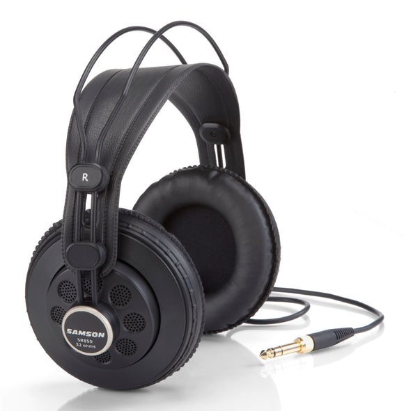 Samson SR850 Semi-Open-Back Studio Headphones