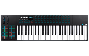 Alesis VI49 - Advanced 49-Key USB/MIDI Keyboard Controller