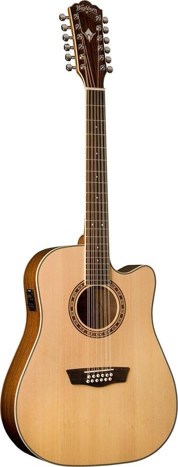 Washburn WD10SCE12 - 12 String Acoustic Guitar
