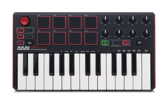 Akai MPK mini MKII - Compact Keyboard and Pad Controller