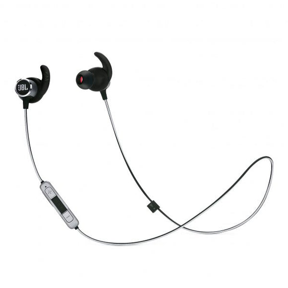 JBL Reflect Mini 2 - Sweatproof Wireless Sport In-Ear Headphones (Black)