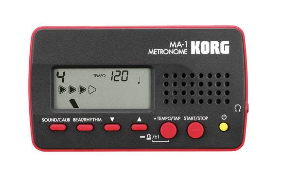 Korg MA-1 Multifunctional Metronome - Red