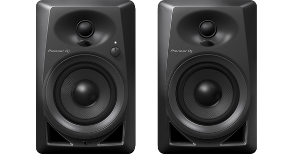 Pioneer DJ DM40 4-inch - Active Monitors , Black (Pair)