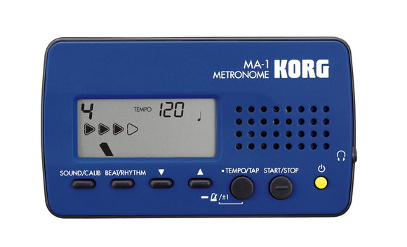 Korg MA-1 Multifunctional Metronome - Blue