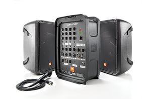 "JBL EON 208P - Packaged 8"" 2-Way PA w/ Powered 8-Channel Mixer & Bluetooth"