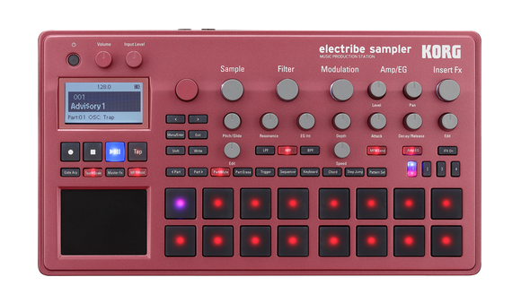 Korg Electribe 2 Sampler - Music Production Station - Red