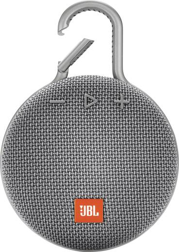 JBL CLIP 3 - Portable Bluetooth speaker (Grey)