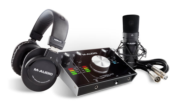 M-Audio M-Track - 2x2 Vocal Studio with Headphones and Mic