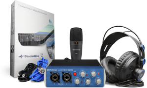 Presonus AudioBox 96 Studio Recording Pack and Accessories